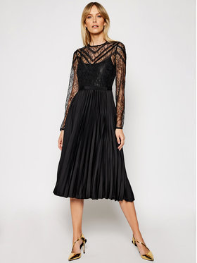 Morgan Morgan Коктейлна рокля 211-Rcane Черен Regular Fit
