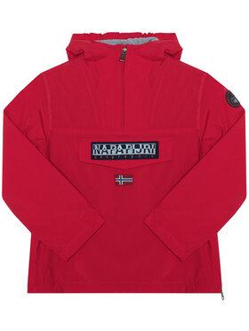 Napapijri Napapijri Átmeneti kabát Rainforest NP0A4EPL M Piros Regular Fit