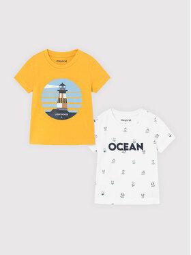 Mayoral Mayoral Set di 2 T-shirt 1008 Multicolore Regular Fit
