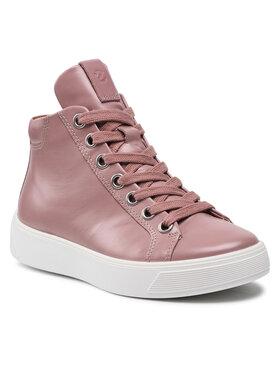ECCO ECCO Sneakersy Street Tray W 29121360112 Różowy