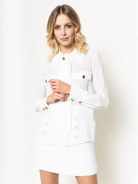 Elisabetta Franchi Elisabetta Franchi Marškiniai CA-271-01E2-V289 Balta Regular Fit