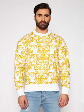 Versace Jeans Couture Versace Jeans Couture Sweatshirt B7GWA7F2 Blanc Regular Fit