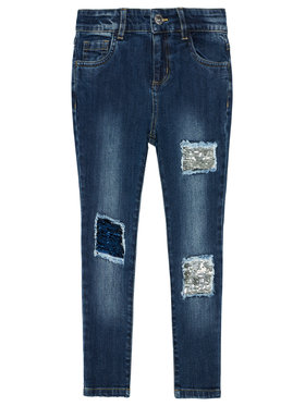 Guess Guess Jeans J1RA03 D4AX0 Blau Regular Fit
