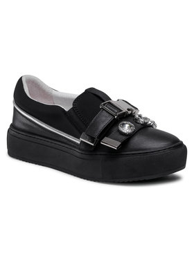 Eva Minge Eva Minge Sneakers aus Stoff EM-41-09-001074 Schwarz