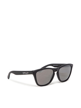 Oakley Oakley Okulary przeciwsłoneczne Frogskin 0OO9013-F755 Czarny
