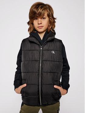 Calvin Klein Jeans Calvin Klein Jeans Γιλέκο Essential Puffer IB0IB00651 Μαύρο Regular Fit