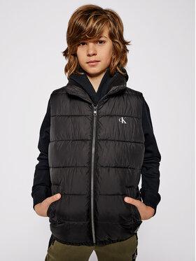 Calvin Klein Jeans Calvin Klein Jeans Kamizelka Essential Puffer IB0IB00651 Czarny Regular Fit