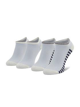 Tommy Hilfiger Tommy Hilfiger Set di 2 paia di calzini corti da donna 100002390 Bianco