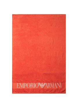 Emporio Armani Emporio Armani Ręcznik Towel Beachwear 211770 0P447 00175 Pomarańczowy