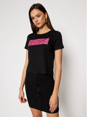 Guess Guess T-shirt Adria Tee W1RI05 JA900 Nero Regular Fit
