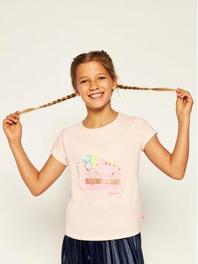 Billieblush Billieblush T-shirt U15739 Rose Regular Fit