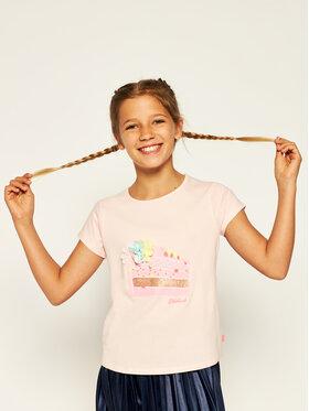 Billieblush Billieblush T-Shirt U15739 Różowy Regular Fit