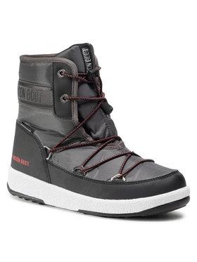 Moon Boot Moon Boot Bottes de neige Boot Jr Boy Mid Wp 2 34052500002 D Gris