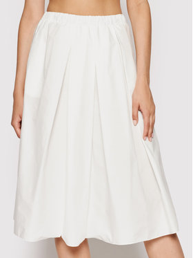Imperial Imperial Spódnica trapezowa GGJ4BBD Biały Regular Fit