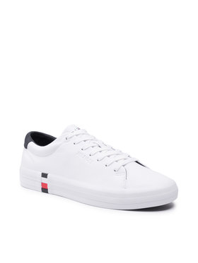 Tommy Hilfiger Tommy Hilfiger Sneakersy Premium Corporate Vulc Sneaker FM0FM03621 Biały