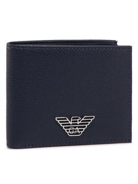 Emporio Armani Emporio Armani Velká pánská peněženka Y4R168 YLA0E 80455 Tmavomodrá