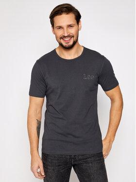 Lee Lee Marškinėliai Embro Logo L61ZFEON Pilka Regular Fit