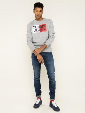 Tommy Jeans Tommy Jeans Mikina Essential Graphic DM0DM07413 Šedá Regular Fit