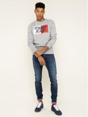 Tommy Jeans Tommy Jeans Μπλούζα Essential Graphic DM0DM07413 Γκρι Regular Fit