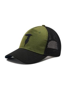 Trussardi Jeans Trussardi Jeans Шапка с козирка Baseball Hat Mesh Levriero Embroidery 57Z00164 Черен