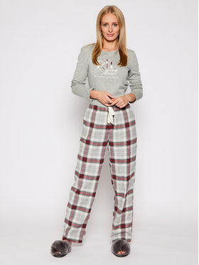 Lauren Ralph Lauren Lauren Ralph Lauren Pyjama 2 Pc Garment ILN72020 Gris Regular Fit