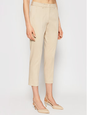 Weekend Max Mara Weekend Max Mara Pantaloni chino Gineceo 51310711 Bej Slim Fit