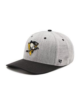 47 Brand 47 Brand Șapcă Pittsburgh Penguins H-SCTTD15WHP-CC Gri