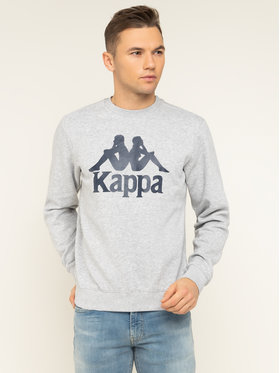 Kappa Kappa Bluza Sertum 703797 Szary Regular Fit