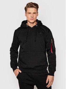 Alpha Industries Alpha Industries Sweatshirt Stripe 178314 Noir Regular Fit