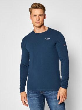 Pepe Jeans Pepe Jeans Longsleeve Original Basic 2 PM506138 Σκούρο μπλε Slim Fit