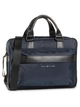 Tommy Hilfiger Tommy Hilfiger Laptoptasche Elevated Nylon Computer Bag AM0AM06469 Dunkelblau