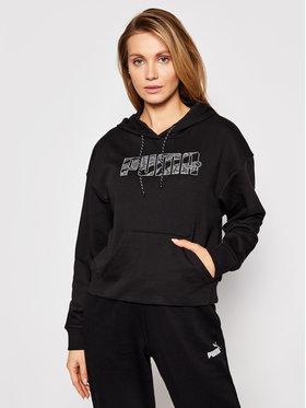 Puma Puma Sweatshirt Rebel 585799 Schwarz Relaxed Fit