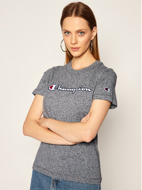 Champion Champion T-Shirt Tee 113194 Grau Regular Fit