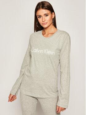 Calvin Klein Underwear Calvin Klein Underwear Bluse 000QS6164E Grau Relaxed Fit