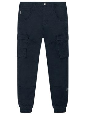 NAME IT NAME IT Spodnie materiałowe Bamgo 13151735 Granatowy Regular Fit