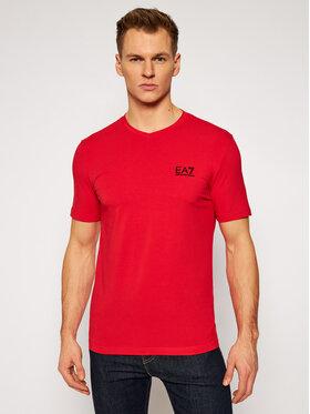 EA7 Emporio Armani EA7 Emporio Armani T-shirt 8NPT53 PJM5Z 1451 Rouge Regular Fit