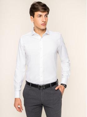 Joop! Joop! Košile 30009556 Bílá Slim Fit