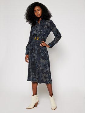Desigual Desigual Rochie tip cămașă Montse 20WWVN01 Colorat Regular Fit