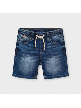 Mayoral Mayoral Pantaloncini di jeans 3227 Blu scuro Regular Fit