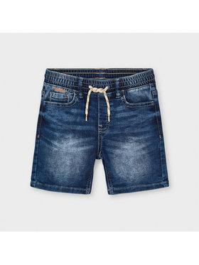 Mayoral Mayoral Szorty jeansowe 3227 Granatowy Regular Fit