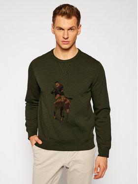 Polo Ralph Lauren Polo Ralph Lauren Bluză Lsl 710766862019 Verde Regular Fit