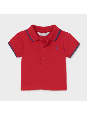 Mayoral Mayoral Polo 190 Rouge Regular Fit