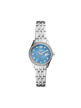Fossil Fossil Uhr Micro Scarlette ES5074 Silberfarben
