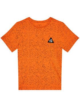 4F 4F Marškinėliai HJL21-JTSM006C Oranžinė Regular F it