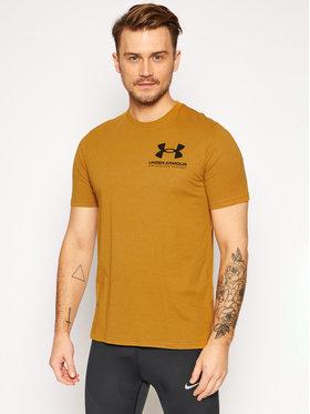 Under Armour Under Armour T-Shirt Ua Performance Big Logo 1357174 Gelb Loose Fit