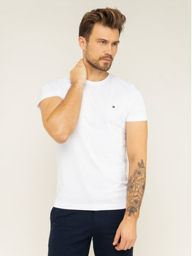 Tommy Hilfiger Tommy Hilfiger T-Shirt 867896625 Biały Regular Fit