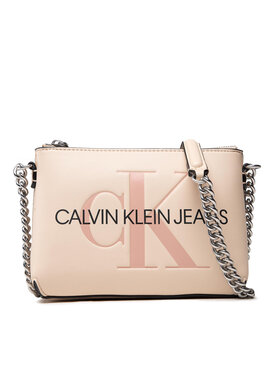 Calvin Klein Jeans Calvin Klein Jeans Rankinė Sculpted Camera Pouch W/Cha Mono K60K608688 Smėlio