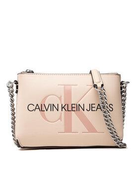 Calvin Klein Jeans Calvin Klein Jeans Torebka Sculpted Camera Pouch W/Cha Mono K60K608688 Beżowy