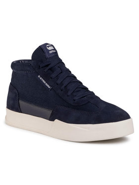 G-Star Raw Sneakersy Rackam Dommic Mid D17949-C497-6486 Tmavomodrá