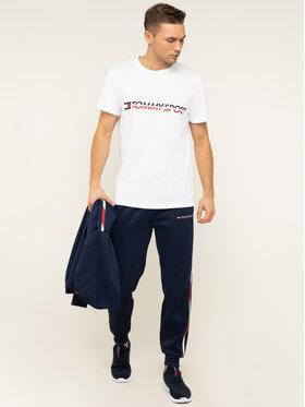 Tommy Sport Tommy Sport T-shirt Logo Driver S20S200486 Bianco Regular Fit
